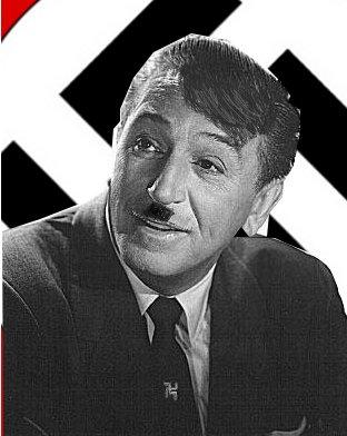 Walt Hitler-Adolf Disney by TheSab17