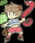 Tanooki Duster Lucas by Razzytaffy