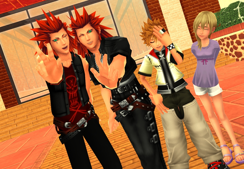 MMD KH - Two Is Better by XxChocolatexHeartsxX on DeviantArt