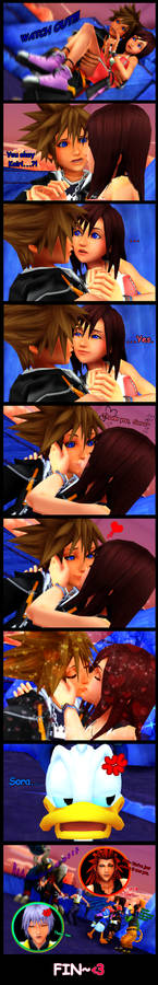 MMD KH - Rescue and Kiss