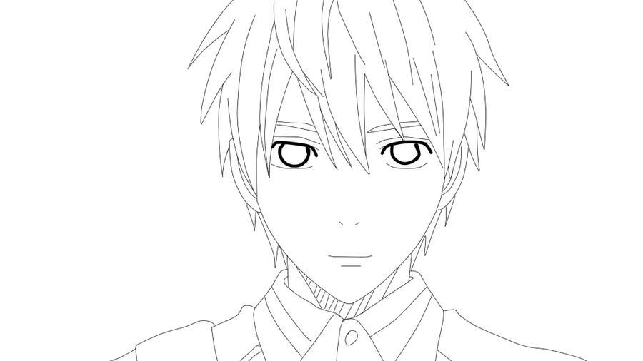 Line Art Kuroko : Kuroko tetsuya lineart by nightraytsukishiro on deviantart