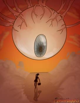 Drawlloween 2019- 9, Eyeball