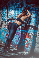 Girl Art With Leggings