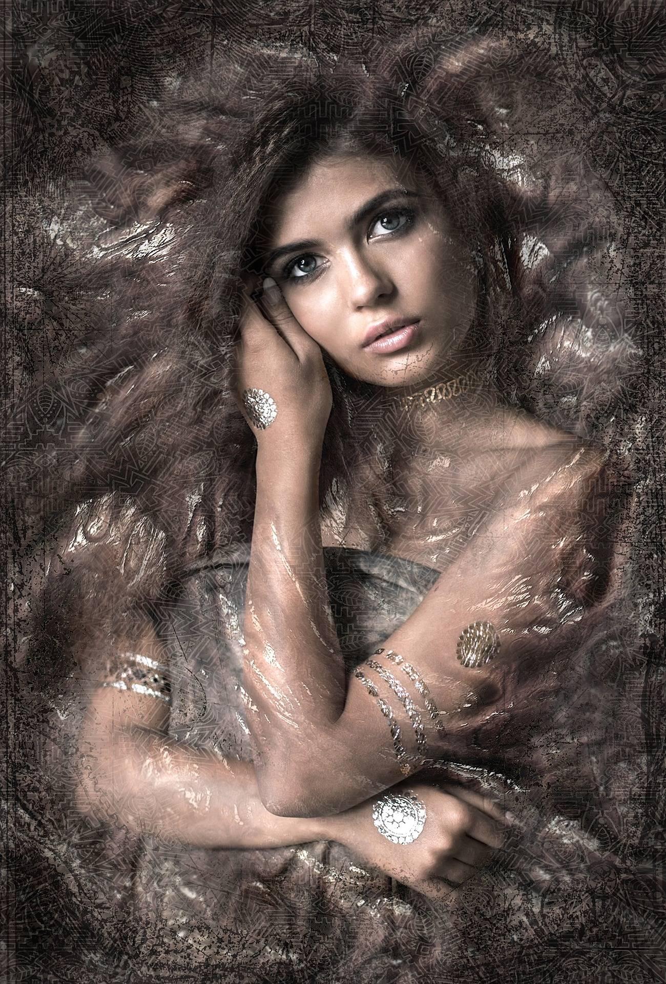 Lady Beautiful Art