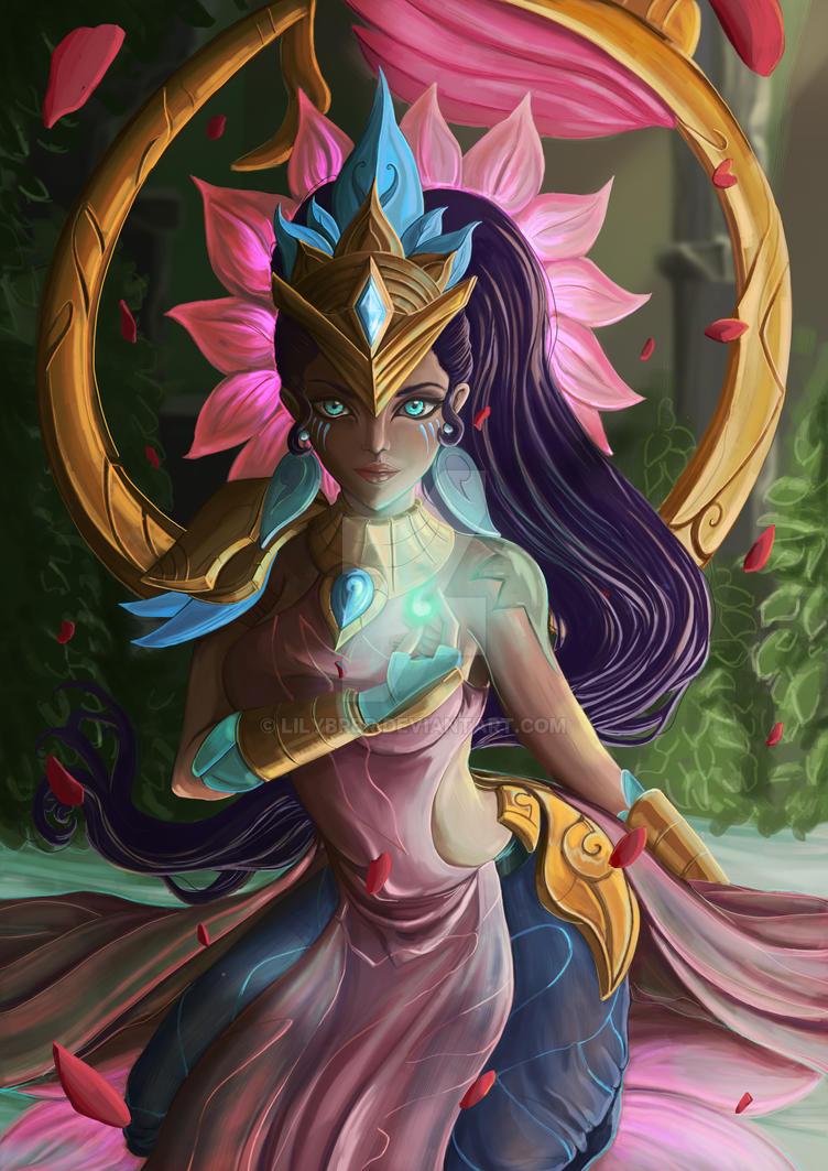 Karma Lotus fanart by lilybrbr