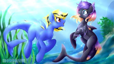 Water Wonders - Sharkify Com by TokoKami