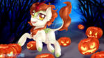 Pumpkin Run - Happy Halloween by TokoKami