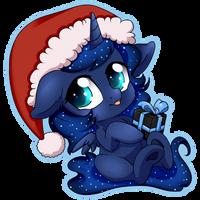 Luna Chibi - Dec 17th by TokoKami