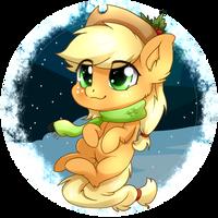 Applejack Chibi - Dec 21th by TokoKami