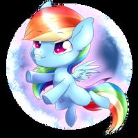 Rainbowdash Chibi - Dec 23th by TokoKami