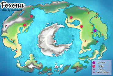 Foxona the world of BoFiFoxes by TokoKami