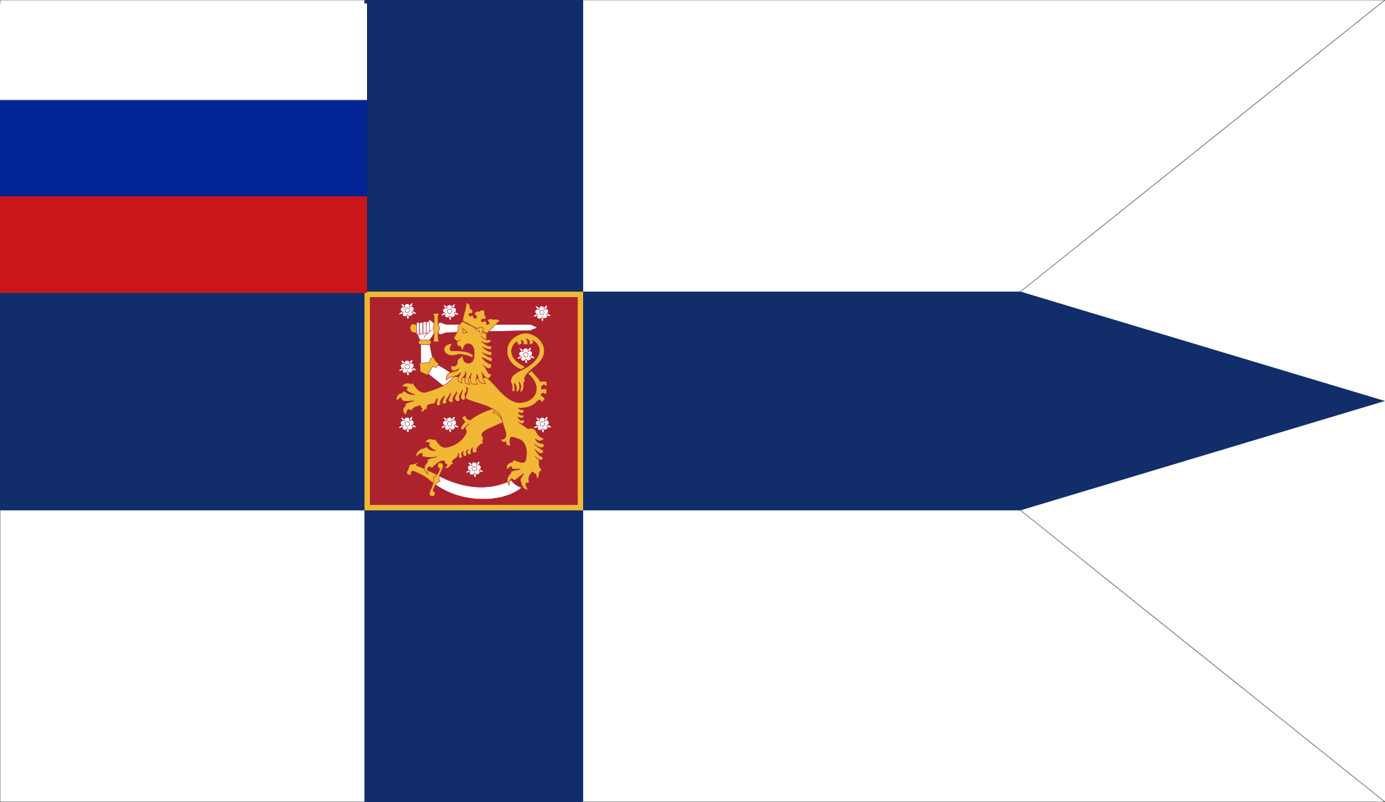 flag of the grand duke of finland russian empire by