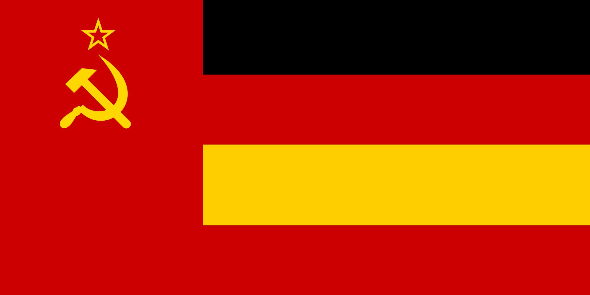 flag of german soviet socialist republic by zeppelin4ever on