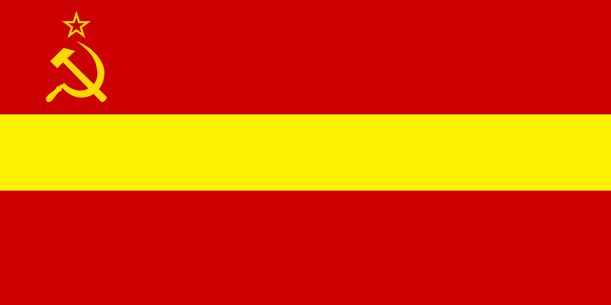 flag of chinese soviet socialist republic by zeppelin4ever on