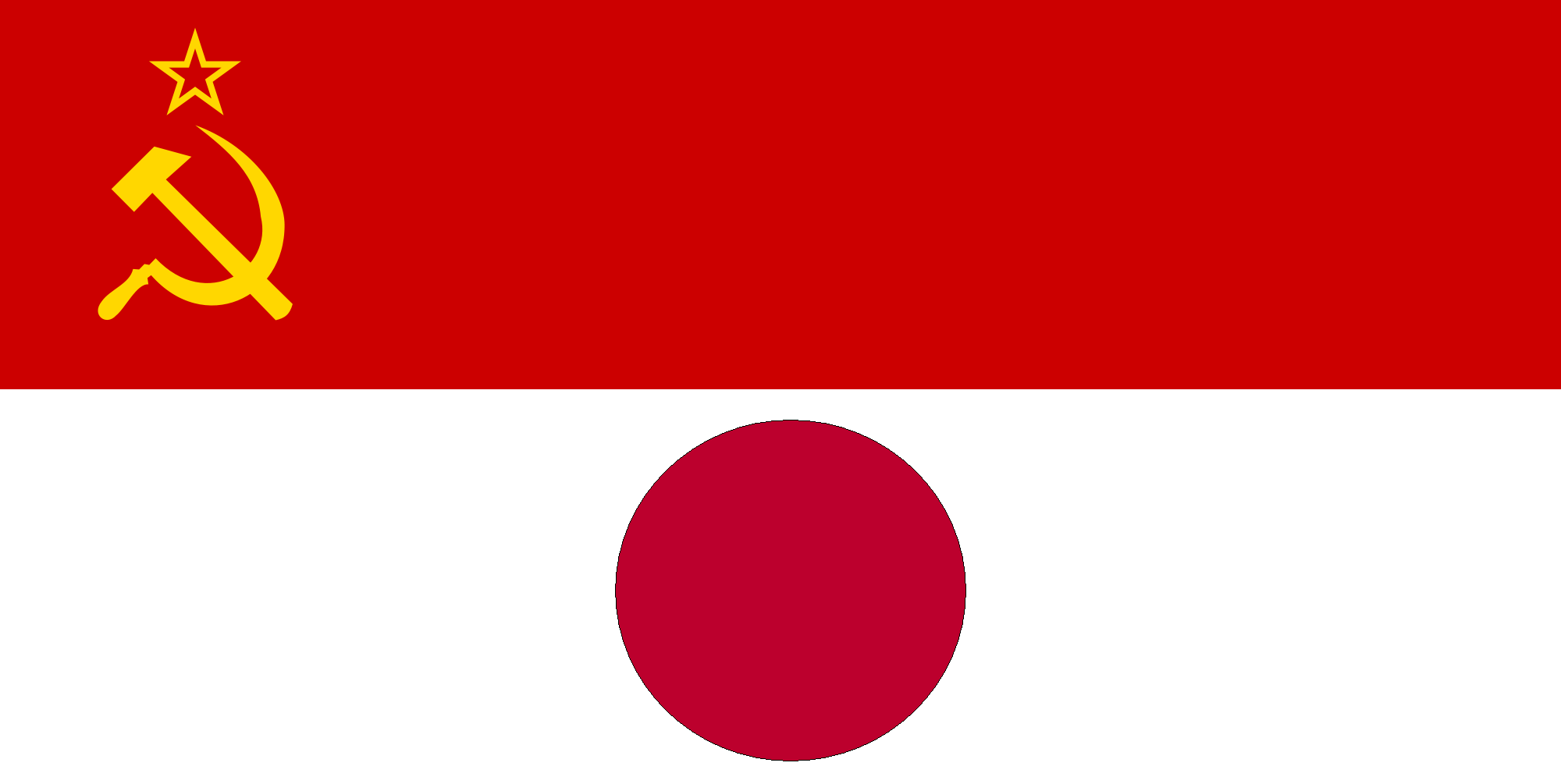 flag of japanese soviet protectorate government by zeppelin4ever