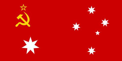 Flag of Australian Soviet Socialist Republic