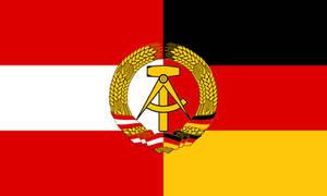 Flag of the Austro-German Democratic Republic