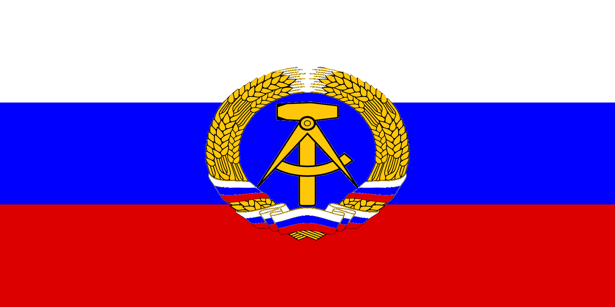 flag of russian democratic repubic by zeppelin4ever on deviantart