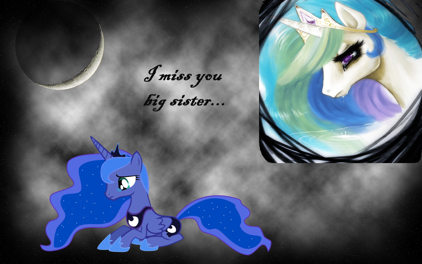 Wallpaper download i miss you -  I Miss You Big Sister By Axelrules1231