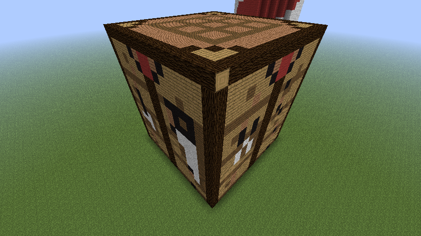 Giant Crafting Table In Minecraft By Axelrules1231 On Deviantart