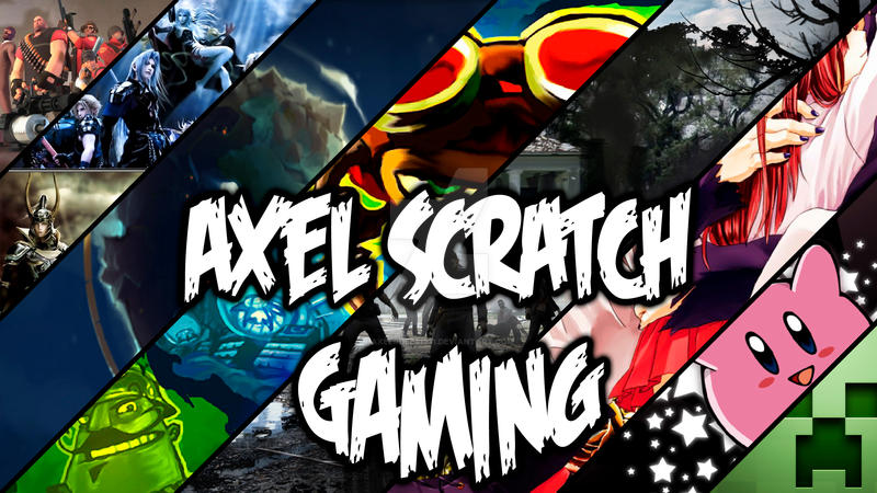 YouTube Channel Art (Axel Scratch Gaming) by axelrules1231