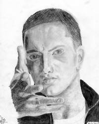 Eminem by misslysiak