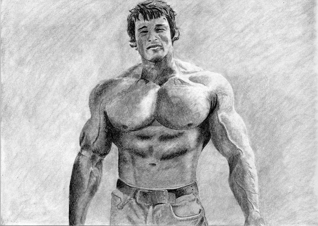 Arnold Schwarzenegger by misslysiak