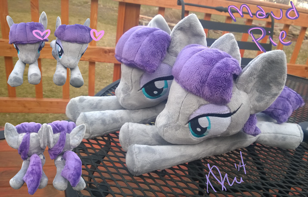 Maud pie plushies by Zombies8MyWaffle