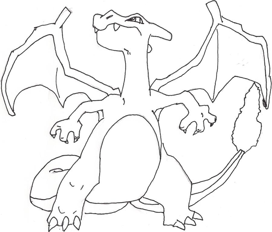 comment dessiner dracaufeu