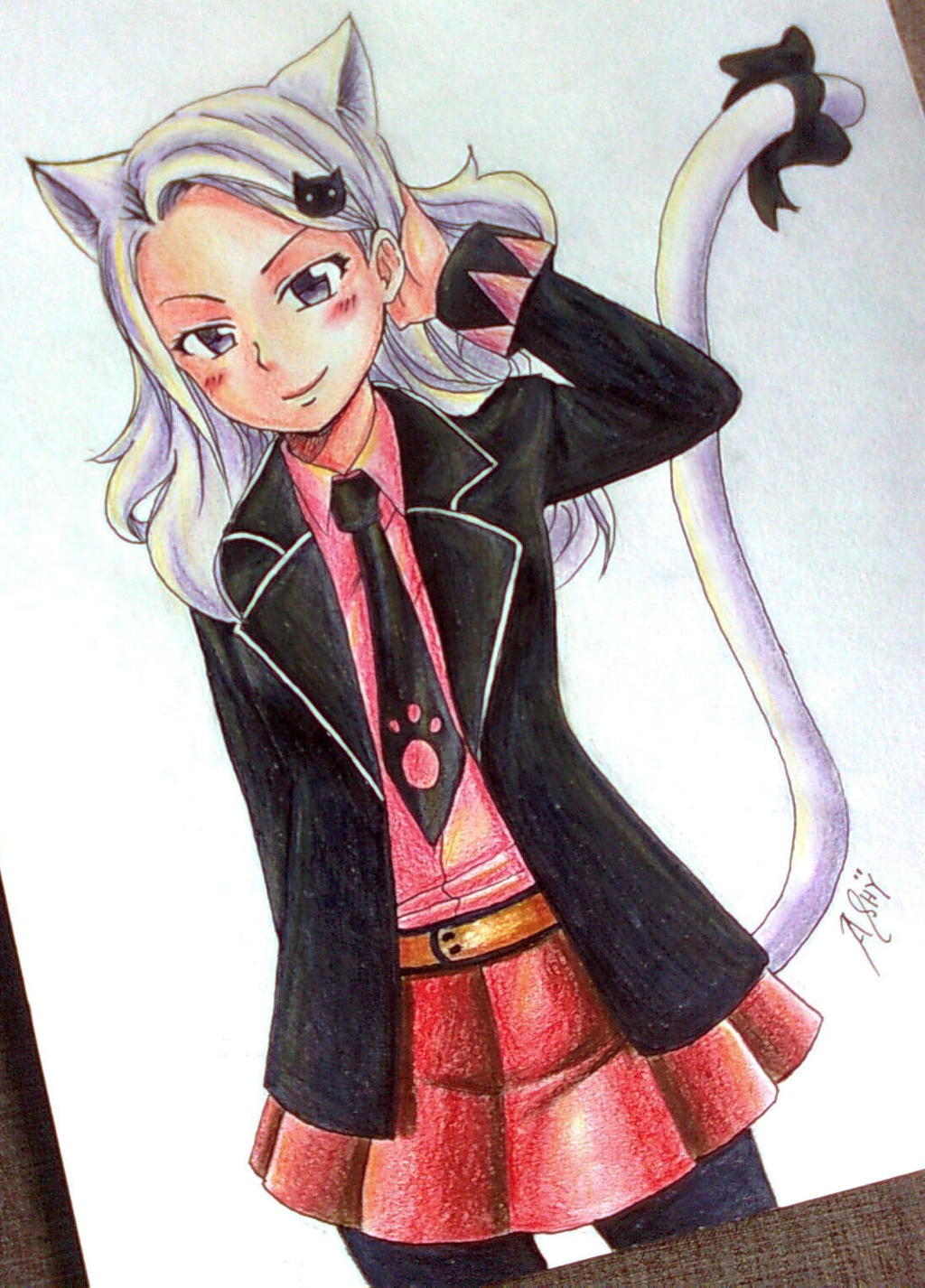 Fairy Tail: Charle's Human Form by Ashreille-chan on DeviantArt