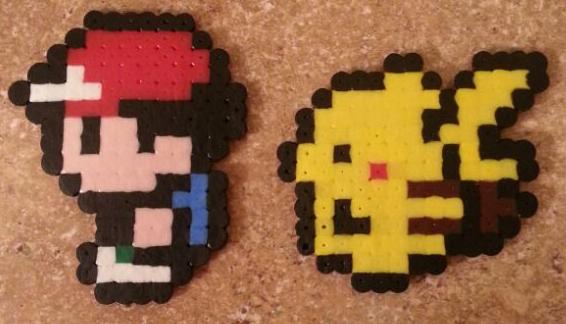 Ash and Pikachu by JokerinaQuinn