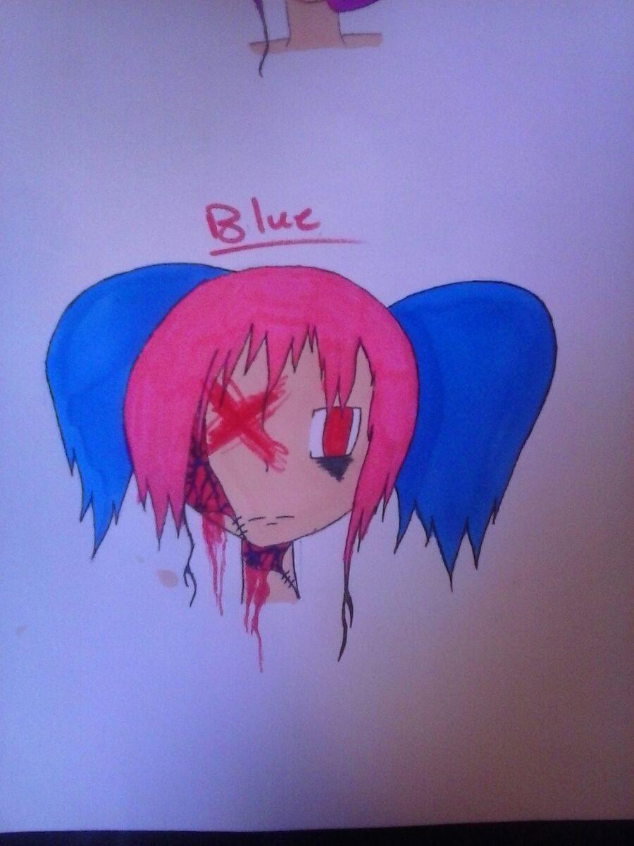Blue by JokerinaQuinn