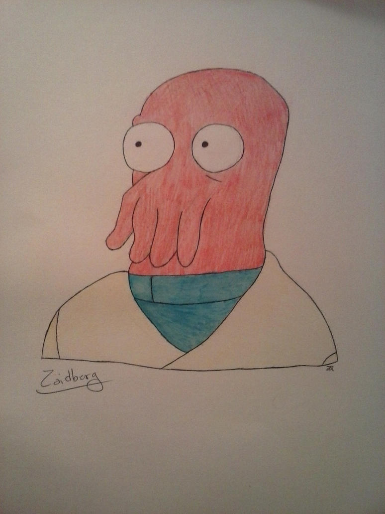 Zoidberg by JokerinaQuinn