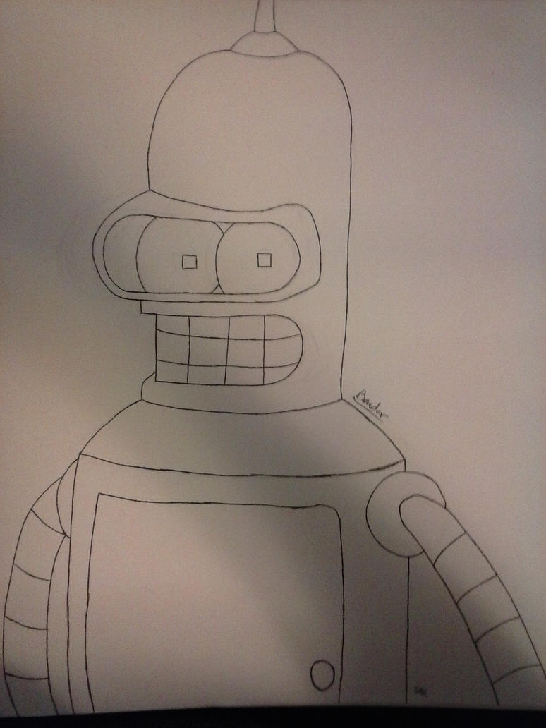 Bender (Wip) by JokerinaQuinn