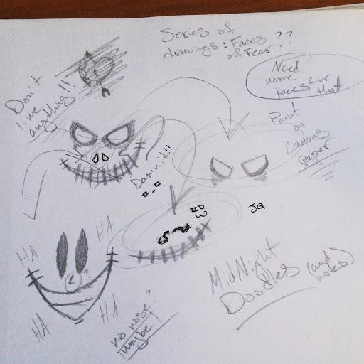 Midnight Doodles by JokerinaQuinn