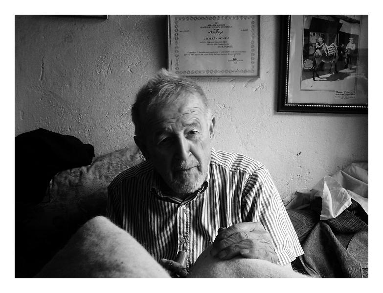 an old man. by gnyz