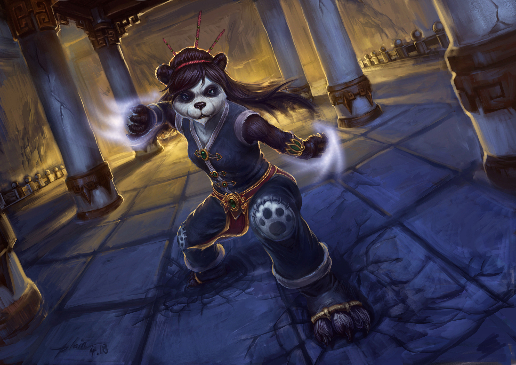 Female pandaren hot adult pic