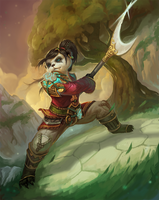 Pandaren by Plainandplain