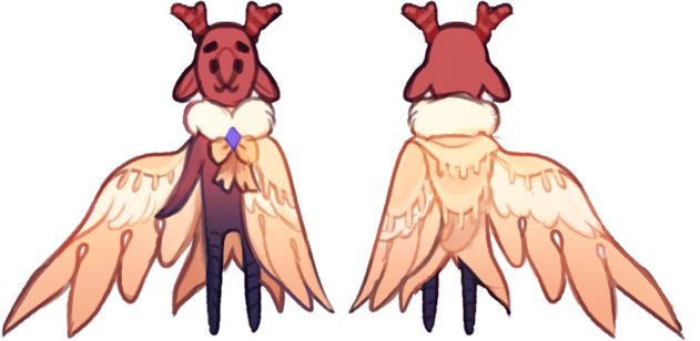 Angelic Cloak Reference by Browbird