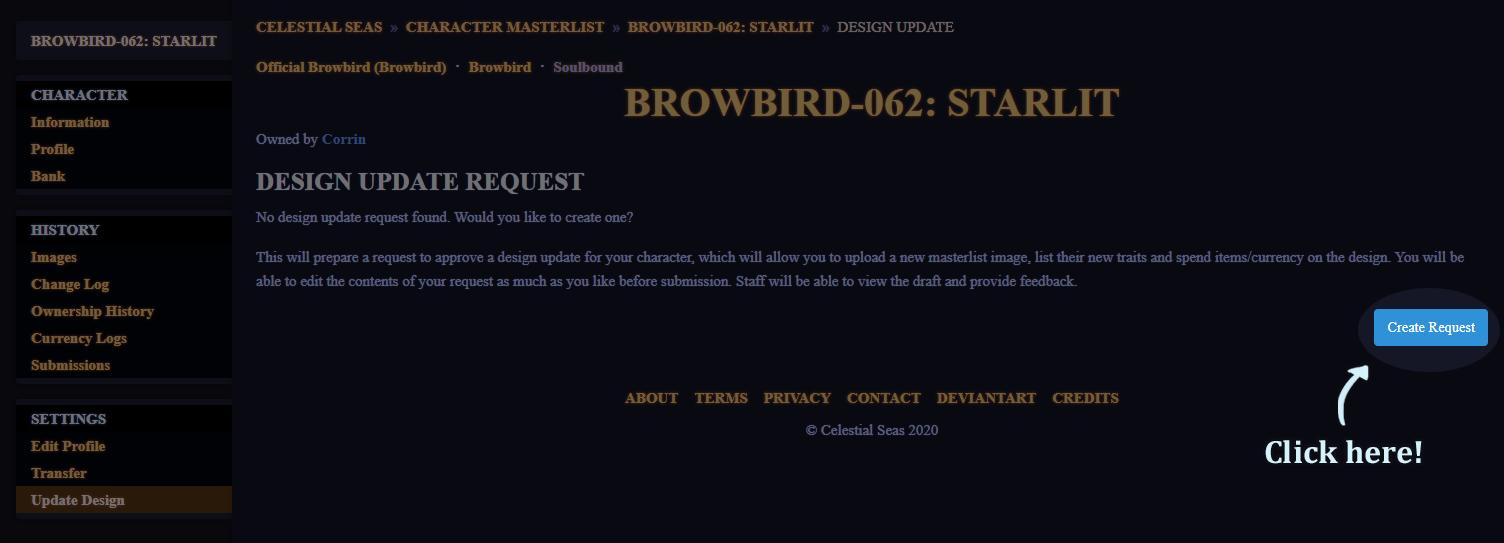 Update Design Help2 by Browbird