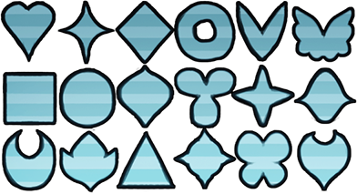Patch Shapes by Browbird