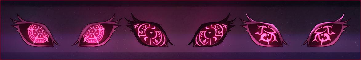 Rune Eyes by Browbird