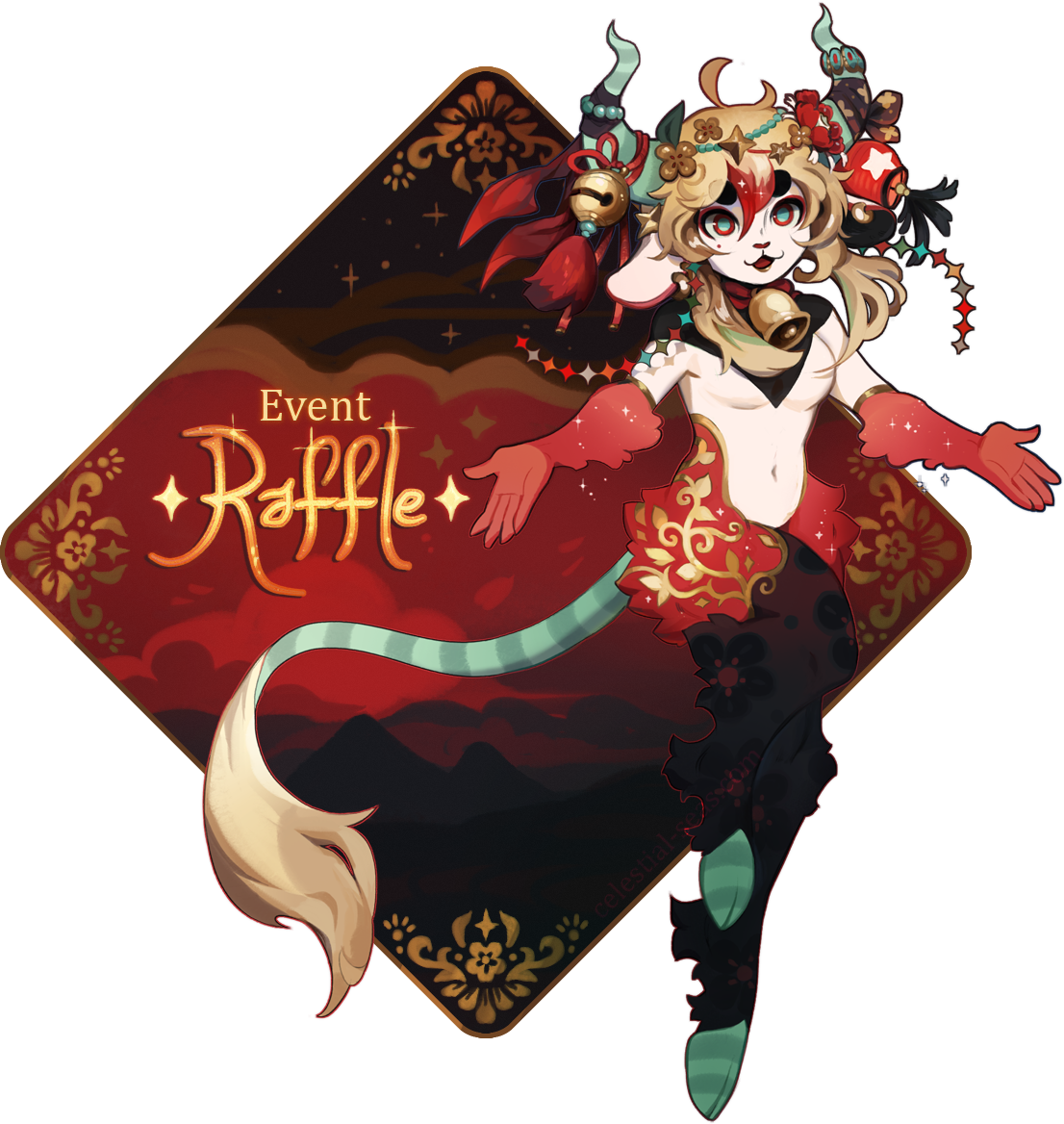 Raffle Satyr by Browbird