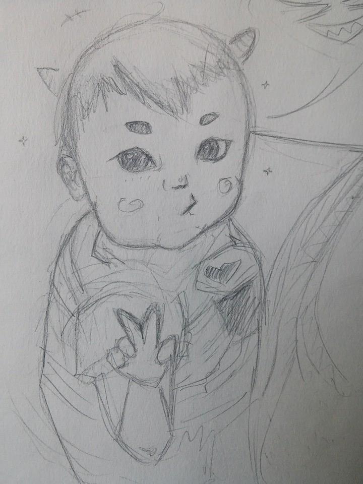 evil child by Xmzv