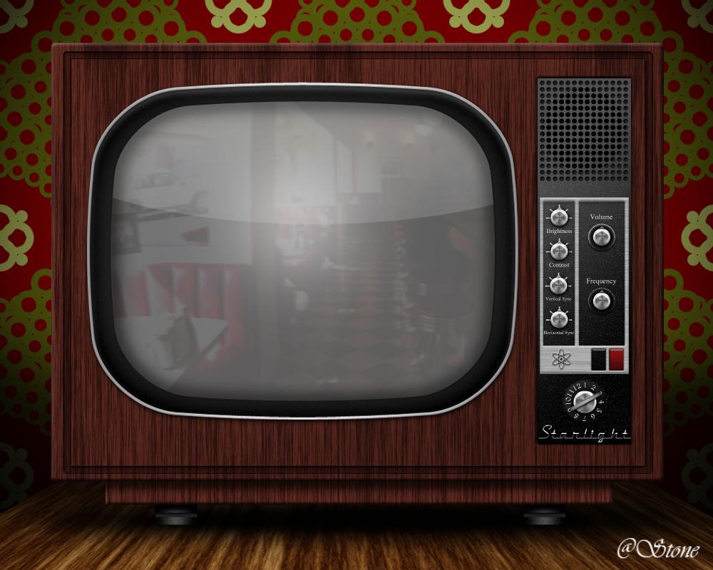 Vintage TV by beingstoned on DeviantArt