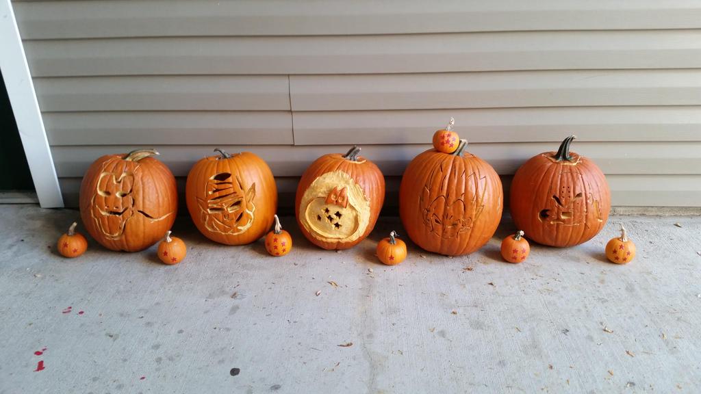 Vegeta Pumpkin Carving: Dragon Ball Z Pumpkins By HopkinsCassatron On DeviantArt