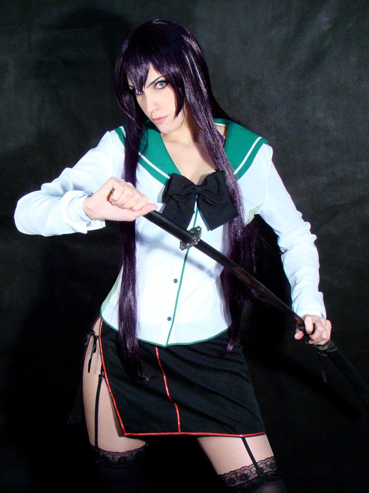 Saeko Busujima cosplay hotd by Lyriel-Rangiku