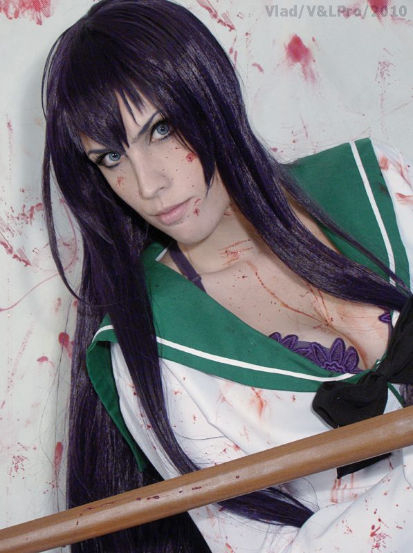 Saeko busujima high school by Lyriel-Rangiku