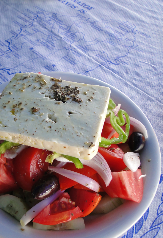 greek salad :D by Corycat