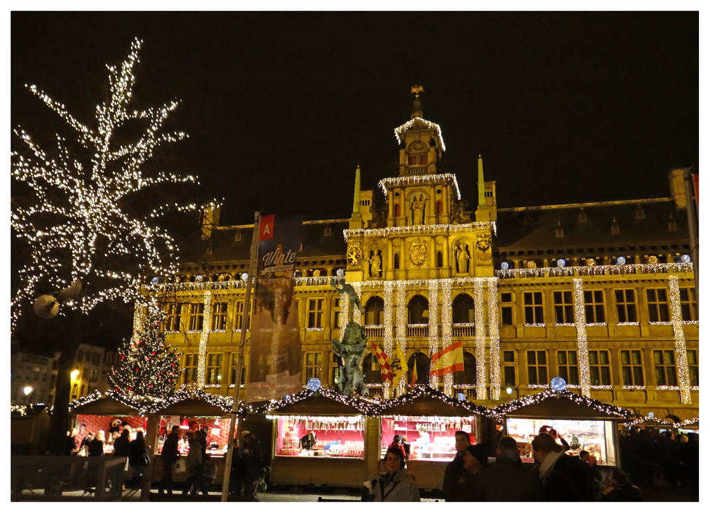 Christmas in Antwerp by Corycat